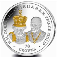 Moneda de una onza para conmemorar la Boda Real