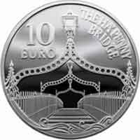 Irlanda dedica una moneda al puente Ha´penny