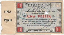 """Vales de la Sociedad """"Rio Tinto Company Limited"""""""