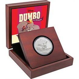 """""""Dumbo"""" cumple 75 años en 1 onza de plata"""