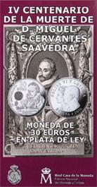 IV Centenario de la Muerte de Cervantes en carterita
