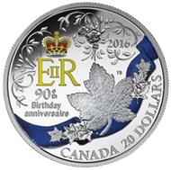 Liga Monárquica de Canadá y 90 cumpleaños de Isabel II