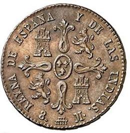 Isabel II y sus diferentes marcas de Ceca