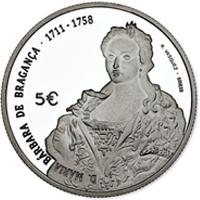 Nueva moneda de la serie Reinas de Europa