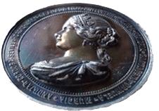 Medalla de la visita de Isabel II a Andalucía y Murcia, 1862