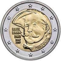 Raúl Brandão protagoniza la moneda de 2€ portuguesa
