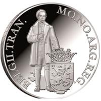Ducado de plata dedicado a la provincia de Overijssel