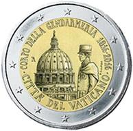 2 Euros para el Bicentenario de la Gendarmería del Vaticano