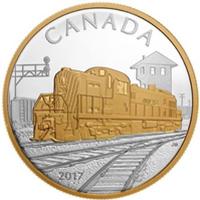 Segunda moneda dedicada a las Locomotoras