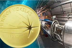 "Física en las ""Ciencias de Lituania"", 5 euros oro"