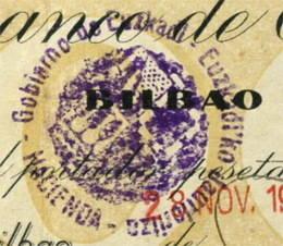Falsificaciones de los sellos del Gobierno de Euskadi en Cataluña