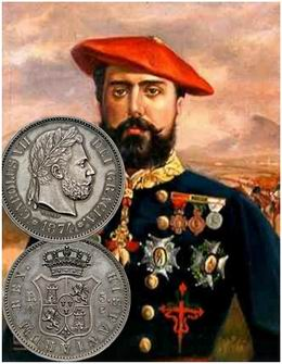 Las monedas de Carlos VII (1874-1876)