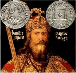 Carlomagno y los Papas, en el camino a la corona imperial