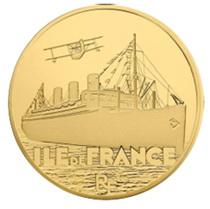"""Grandes Navíos Franceses: Trasatlántico """"Isla de Francia"""""""
