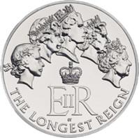 Reino Unido celebra los 63 años de reinado de Isabel II con 5, 10 y 20 libras