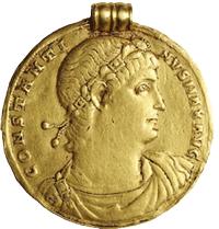 """Bonhams vendió el medallón de Constantino """"El Grande"""" por 198.000 dólares"""