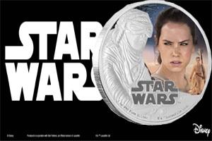 """Monedas dedicadas al film """"Star Wars: El Despertar de la Fuerza'"""