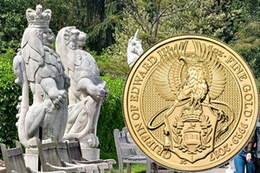 """El Grifo de Eduardo III, segunda moneda de la serie de las """"Bestias de la Reina"""" de Inglaterra"""