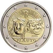Italia recuerda a Plauto en 2 euros