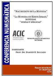 """""""Nacimiento de la moneda"""", conferencia del Dr. Damián R. Salgado"""