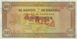 """Los Billetes """"Africa"""" de 1939"""