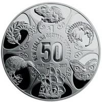 50 años del dólar neozelandés