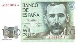 Las emisiones de 1.000 y 5.000 pesetas de 1979 y su particular letra A-A