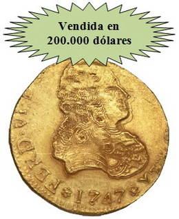 Trío de ases españoles en la Subasta de Heritage Rare Coins