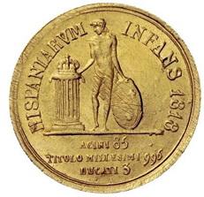 La moneda española en circulación en Malta