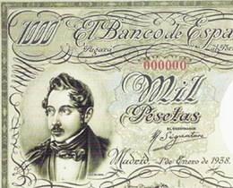 Los billetes españoles de Thomas de la Rue durante la República
