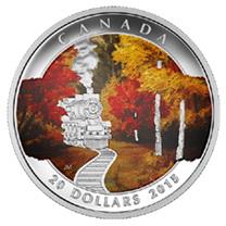 """20 dólares a color para el """"Otoño Exprés"""" canadiense"""