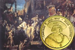 500 Aniversario de la jubilosa entrada de Carlos V en Brujas, Gante, Amberes y Leiden