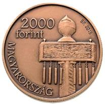 Dos mil forintos húngaros para el Monumento Nacional de Mohácas