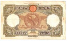 "Italia: 100 Liras 1938 ""Águila Romana"""