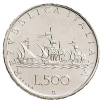 Una moneda de escándalo: 500 liras de 1958