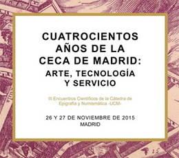 III Encuentros Científicos de la Cátedra de Epigrafía y Numismática de la UCM