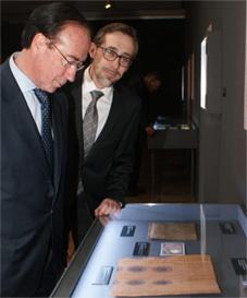 """Inaugurada la exposición en el Museo Casa de la Moneda: """"Filigranas, las huellas del agua"""""""