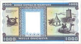 Atractiva serie de Ouguiyas de Mauritania de finales del siglo xx