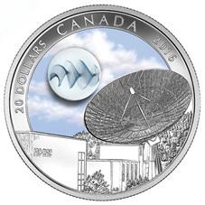 """El """"Universo"""" canadiense que brilla en la oscuridad"""