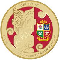 El rugby protagoniza la nueva moneda neozelandesa.