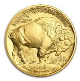 Monedas de oro Buffalo