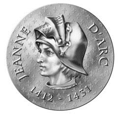 "Juana de Arco en ""Mujeres de Francia"""