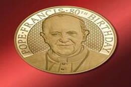 Islas Cook le desea un feliz 80 cumpleaños al Papa Francisco