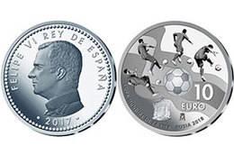 Monedas conmemorativas por la Copa Mundial de Rusia 2018