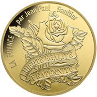 Monedas diseñadas por Jean Paul Gautier