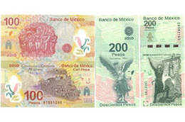 Billetes conmemorativos de la Independencia y la Revolución de México