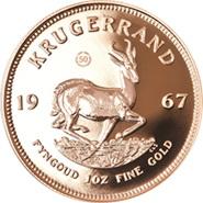 50 Aniversario del Kruger Rand