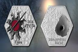Los fusileros letones y la Batalla de Navidad en plata