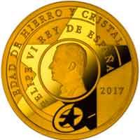Monedas dedicadas a la Edad de Hierro y Cristal