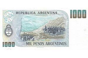 El Banco Central de Argentina emitirá un billete de 1.000 pesos